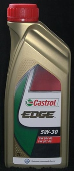 1 Ltr 5W-30 Castrol Edge Voll-Synthetisch/Longlife Olie